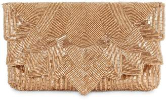 La Regale Beaded Envelope Clutch
