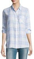Rails Charli Plaid Button-Front Shirt