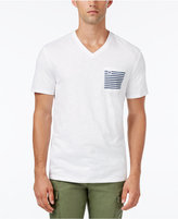 Tommy Hilfiger Men's Social Graphic-Print V-Neck T-Shirt