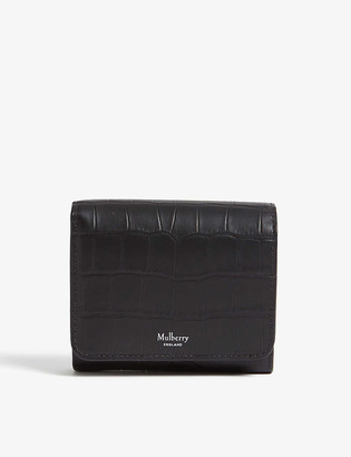 Mulberry French continental small wallet