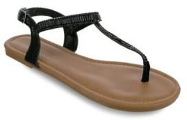 OLIVIA MILLER Melbourne Multi Rhinestone Sandals Women's Shoes