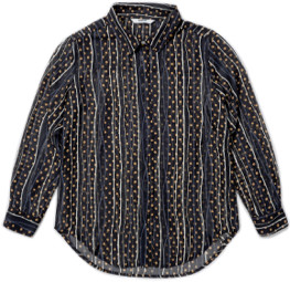 Wemoto Black Sand Aimee Shirt - small | black - Black/Black