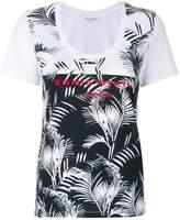 Sonia Rykiel leaf print logo T-shirt