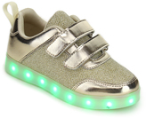Jelly Beans Gold Power Light-Up Sneaker