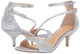 Badgley Mischka Tangerine (Silver) Women's Shoes
