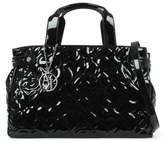 Armani Jeans Heart Black Patent Shopper