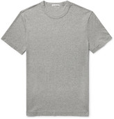 James Perse - Mélange Cotton-jersey T-shirt