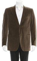 Dolce & Gabbana Velvet Two-Button Blazer