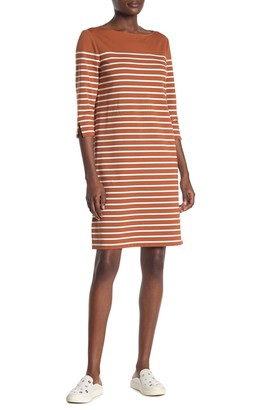 Lafayette 148 New York Daytona Stripe Shift Dress