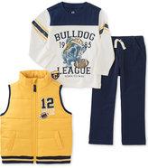 Kids Headquarters Kid Headquarters Little Boys' Vest/Tee/Pant Set