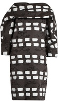 Vivienne Westwood Bond dash-print cady dress