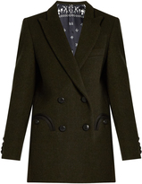 Dark Green Blazer Womens