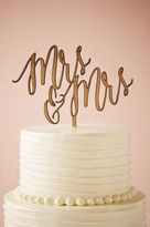 BHLDN Scripted Cake Topper