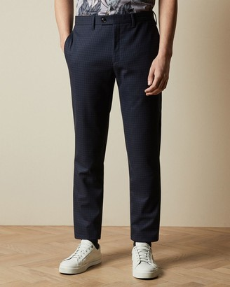 Ted Baker Micro Check Trousers