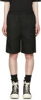 Lad Musician Black Gabardine Shorts