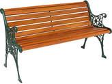 HOME Hardwood 12 Slat Chelsea Bench