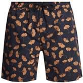 Saturdays NYC Timothy Ginkgo-print swim shorts