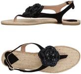 Twin-Set Toe strap sandals - Item 11326952