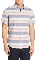 Tommy Bahama Capitaine Short Sleeve Stripe Sport Shirt