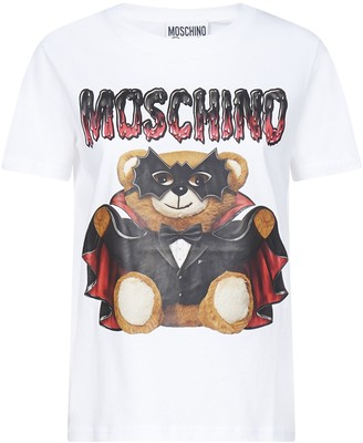 Moschino Teddy Bat Print T-Shirt