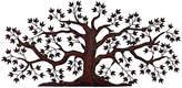 One Kings Lane Calypso Tree Hand-Forged Wall Art - Rust