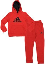 adidas Youth Big Boys Game Ready Hoodie And Pants Set