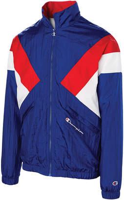 Champion Men C-Life Nylon Colorblocked Warm-Up Jacket