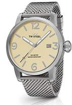 TW Steel Men's 'Maverick' Quartz Stainless Casual Watch, Color:Silver-Toned (Model: MB1)