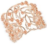 INC International Concepts M. Haskell for Imitation Pearl Cluster Openwork Cuff Bracelet, Created for Macy's