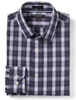 Banana Republic Camden-Fit Non-Iron Multi-Plaid Shirt