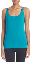 Lord & Taylor Stretch Roundneck Tank