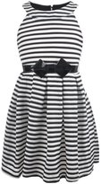 "Beautees Big Girls' ""All Wrapped Up"" Belted Dress"