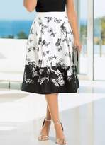 Together Butterfly Print Skirt