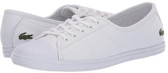 Lacoste Ziane BL 1 CFA (White) Women's Shoes