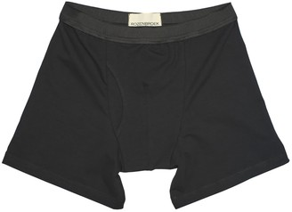 Rozenbroek Organic Bamboo Jersey Boxer-Short In Black