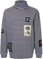 Kent & Curwen long-sleeved striped T-shirt