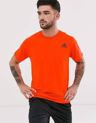 adidas Training t-shirt in orange
