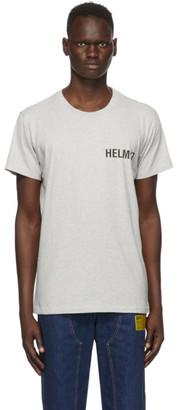 Helmut Lang Grey Glowcore Standard T-Shirt