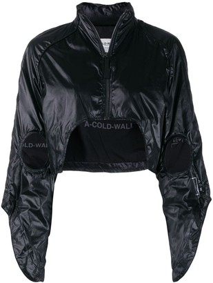 A-Cold-Wall* cropped raglan-shoulder jacket