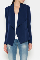 Fate Knit Draped Blazer