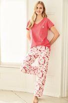 Next Womens Coral Dragonfly Short Sleeve Pyjamas