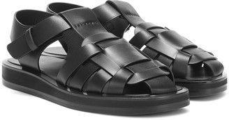 The Row Gaia 2 leather sandals