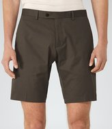 Reiss Reiss Statten S - Tailored Shorts In Brown, Mens