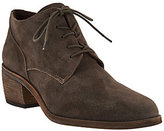 Vince Camuto Suede Lace-up Oxford Booties - Lanaia