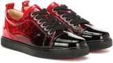 Christian Louboutin Exclusive to Mytheresa Louis Junior Woman leather sneakers