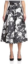 Romeo & Juliet Couture Women's Abstract Print Skirt