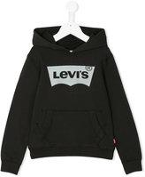 Levi's Kids - logo print hoody - kids - Cotton/Spandex/Elastane - 4 yrs