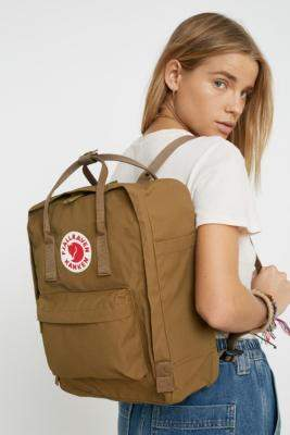 Fjallraven Kanken Classic Sand Backpack - brown at Urban Outfitters