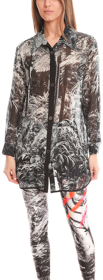 We Are Handsome The Instinct Silk Buttonup
