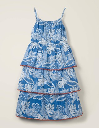 Tiered Woven Dress